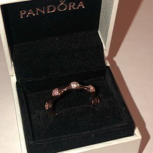 Pandora Jewelry - Modern LovePods Ring